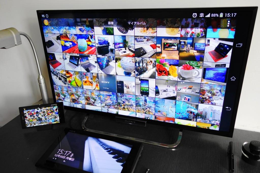 BRAVIA 能够与 Xperia 无线连接,作为屏幕镜像。匹配过程仅需数秒,操作也很简便