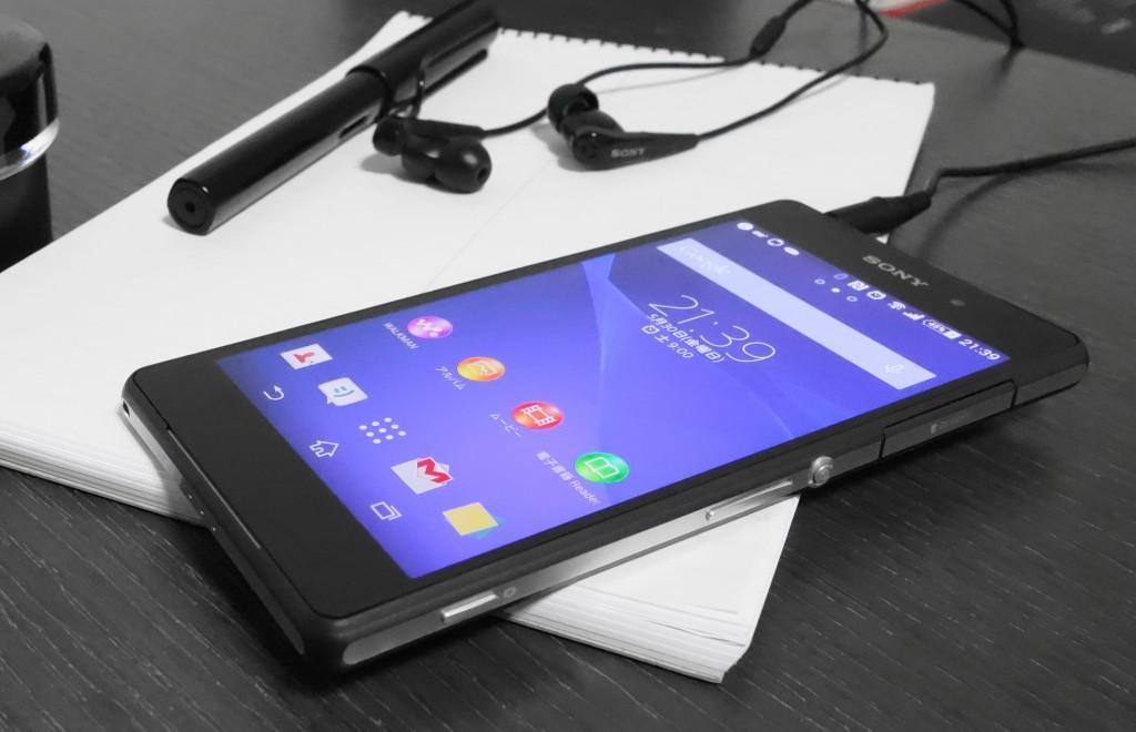 Xperia Z2 直接兼容索尼现有的5段接口降噪耳机 NC033