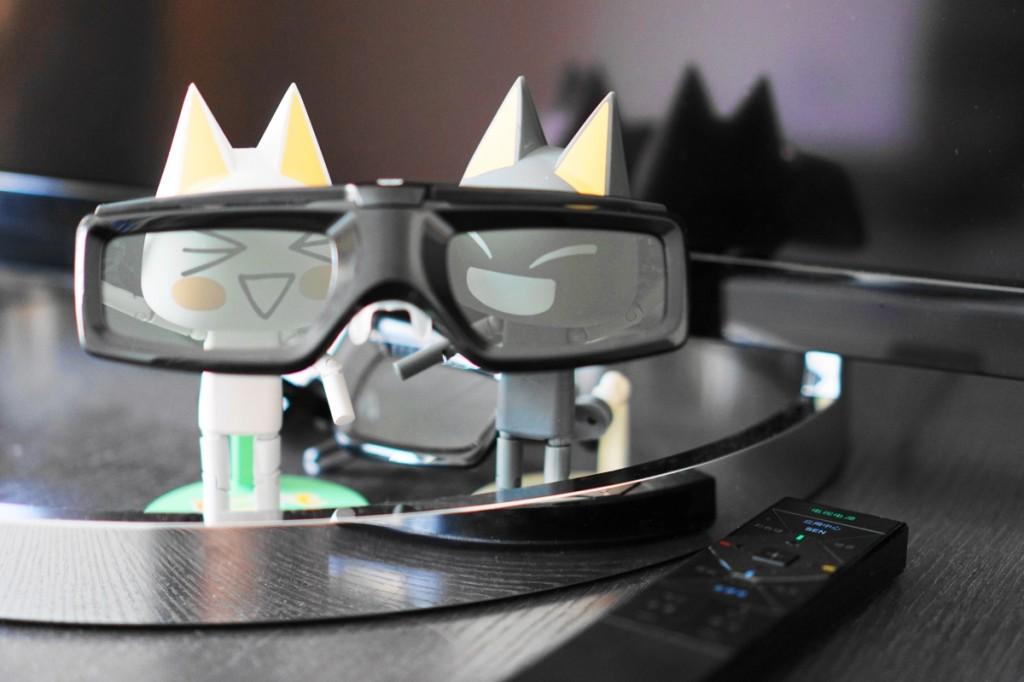 老实说,3D 眼镜的佩戴舒适感一般